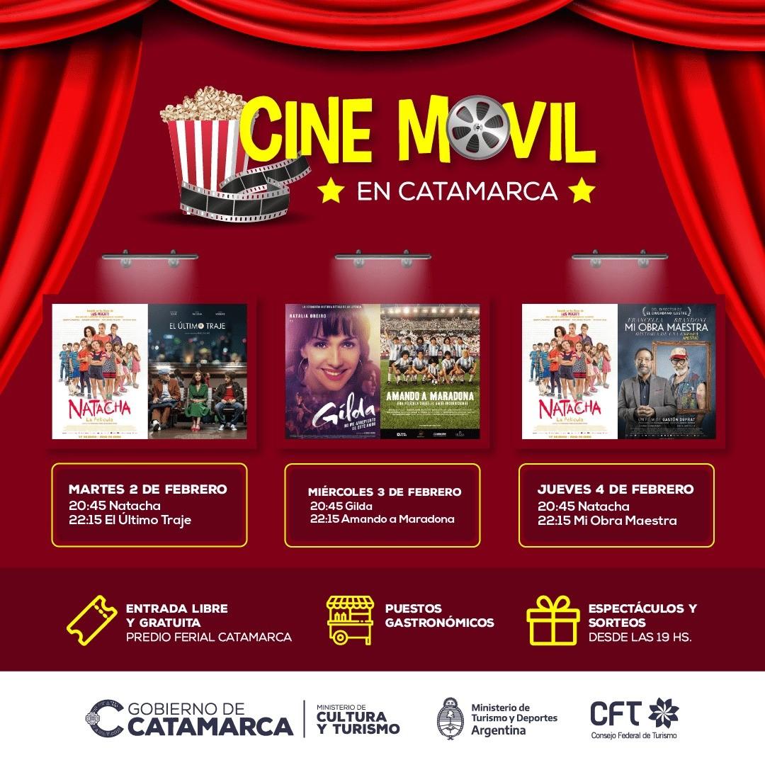 Regresa el Cine Móvil al Predio Ferial