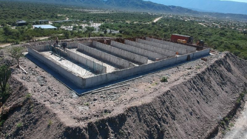 60% de avance en la obra Cisterna El Morro 2