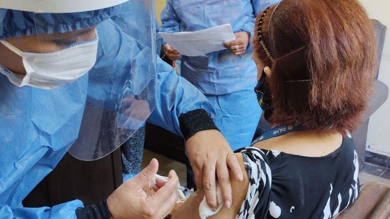 Continúa el Plan Operativo Vacunación Covid 19