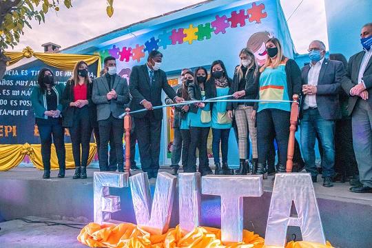 Inauguraron un nuevo Espacio de Primera Infancia en Belén