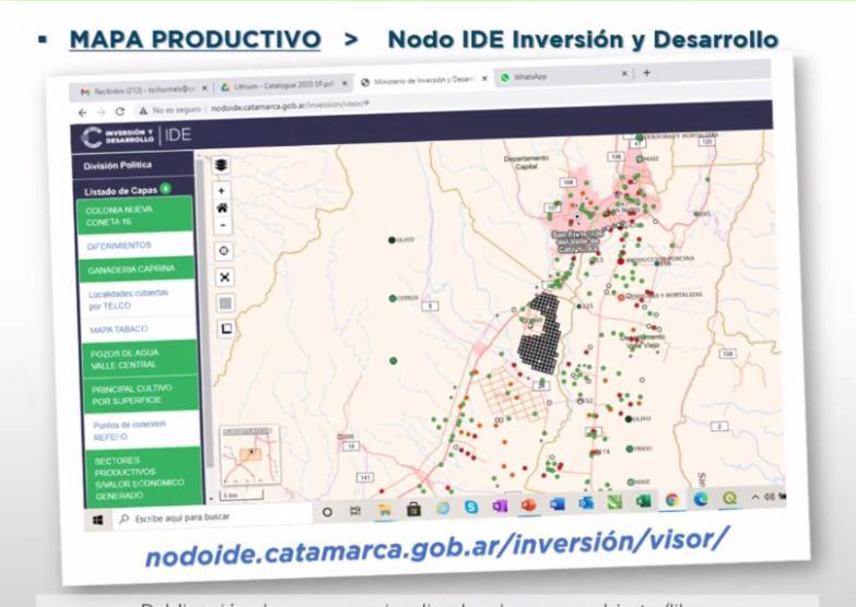 Mapa Productivo Provincial: una herramienta clave para la gestión gubernamental