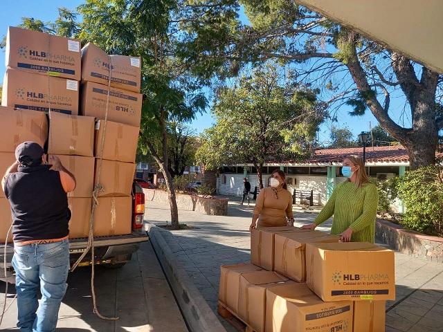Gobierno inició la distribución de barbijos en los municipios