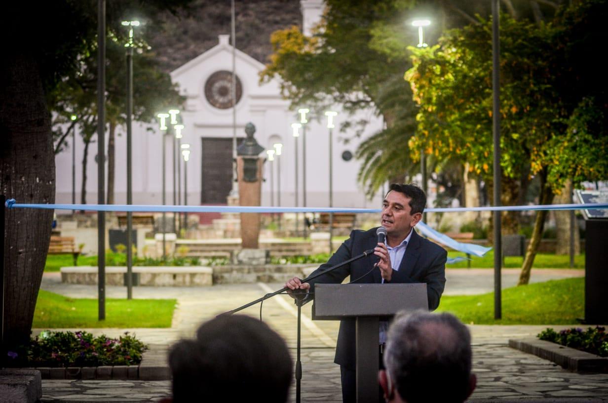 Se inauguró la renovada plaza de San José de Piedra Blanca