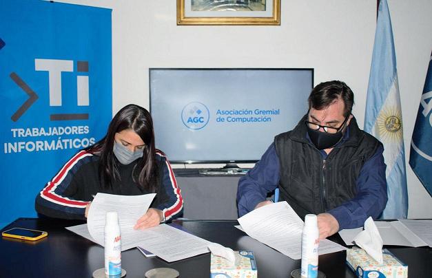 Convenio con la Asociación Gremial de Computación para fortalecer la formación profesional en Catamarca
