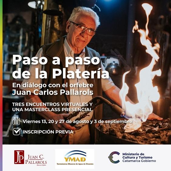 El orfebre Juan Carlos Pallarols capacitará en Catamarca