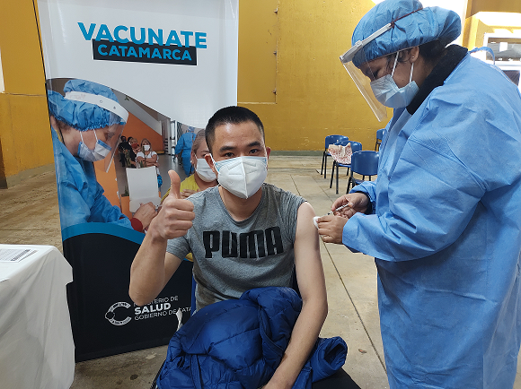 Cronograma de Vacunación: primera y segunda dosis