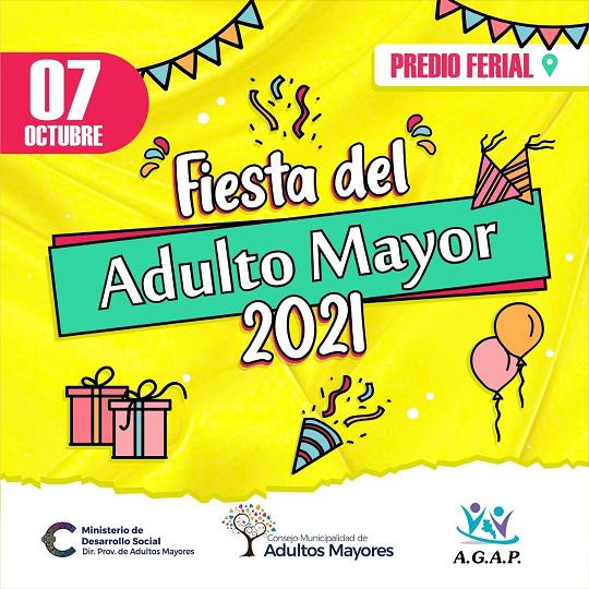Anunciaron la Fiesta del Adulto Mayor 2021 en el Predio Ferial